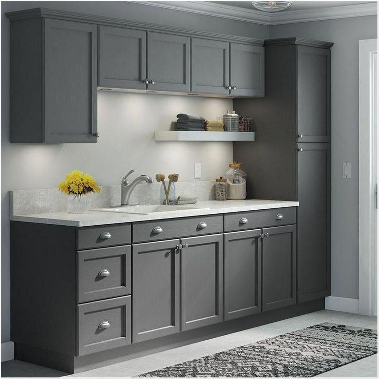 9 Dark Grey Shaker Style Kitchen Ideas   Myhomeorganic