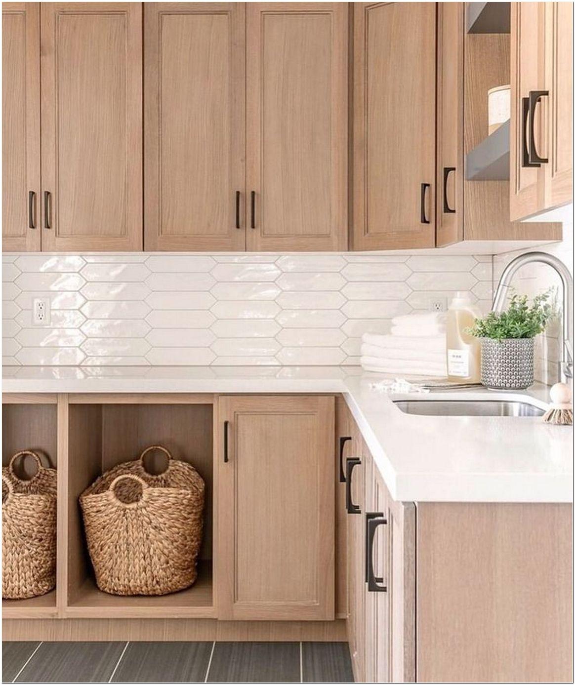 Natural Wood Kitchen Design