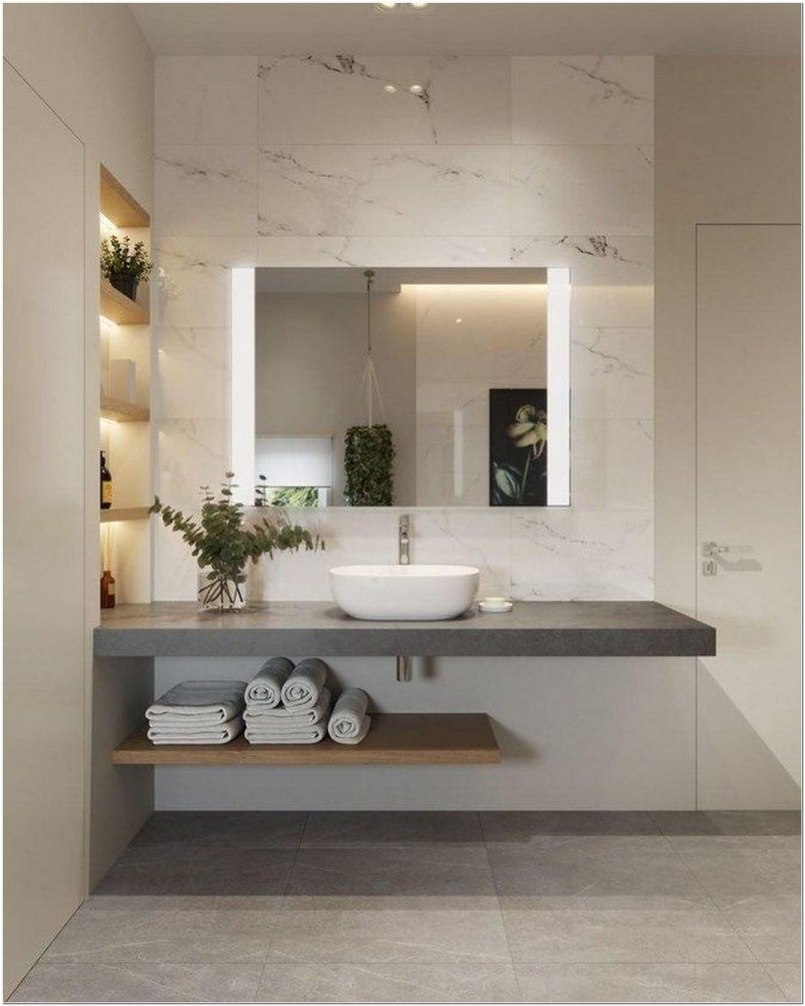 67 Ideas for a Modern Marble Bathroom Decor
