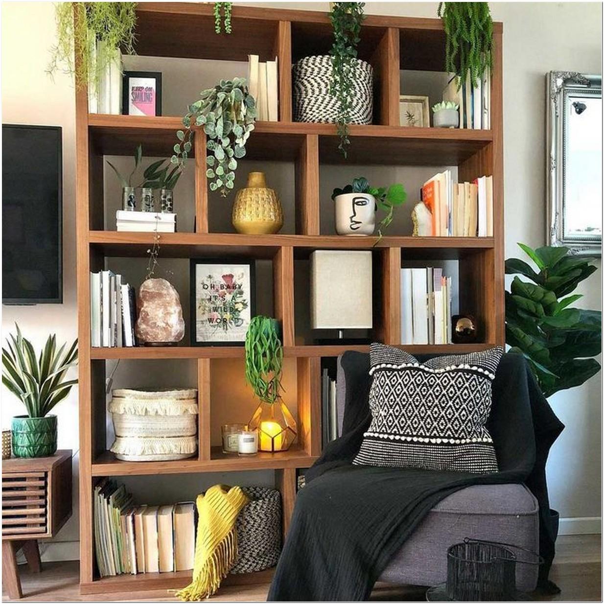 10 Best Living Room Shelving Arrangements